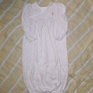 Baby girls gown size 6 mos.